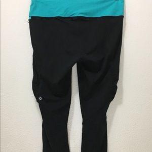 Lululemon skinny crop women's pants size 6